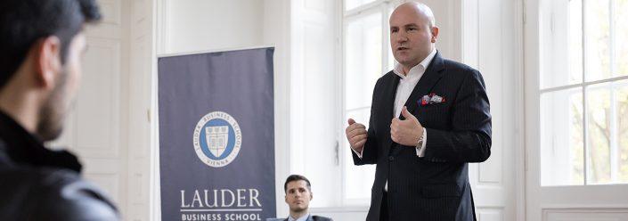 Florian Koschat Lauder Business School
